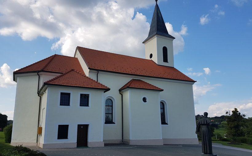 Župna crkva MB Žalosne u Velikom Trgovišću